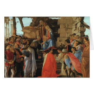 Bebé Jesús José de los reyes Virgen María de la Tarjeta De Felicitación