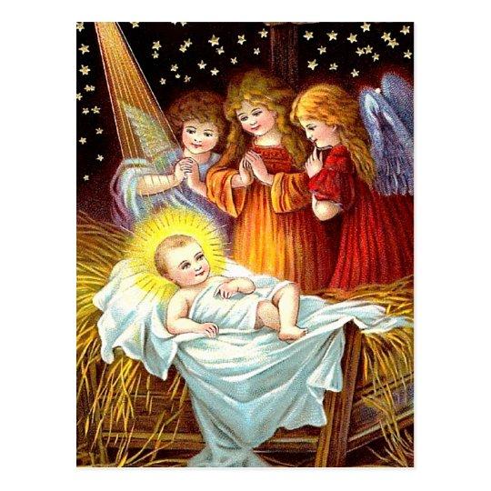 Bebé Jesús Postal