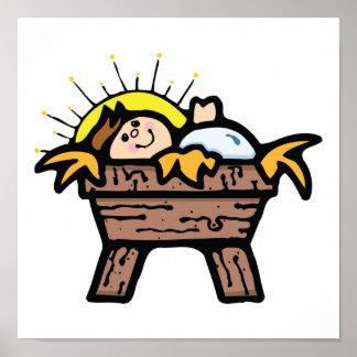 bebé Jesús Poster