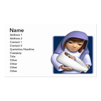 Bebé Jesús Tarjeta Personal