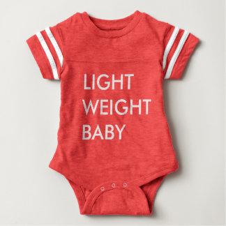 Bebé ligero body para bebé