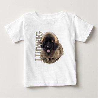 Bebé Luis la camiseta del perrito de Leonberger