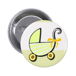 Bebé o fiesta de bienvenida al bebé agradable pin