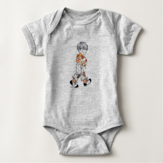 "Bebé Onsie del ""Finn"" de Sarah Kay Body Para Bebé"
