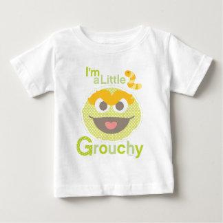 Bebé Óscar malhumorado Camiseta De Bebé