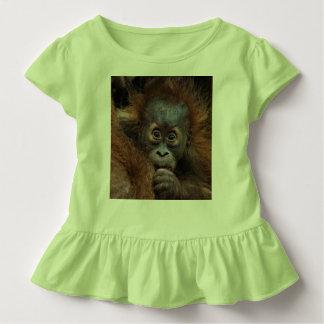 bebé precioso del orang camisetas