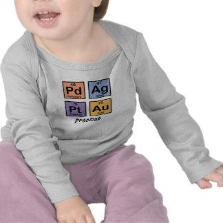 Bebé precioso Largo-Envuelto Camiseta