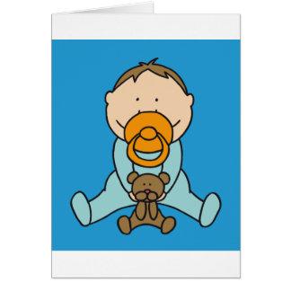 Bebé recién nacido tarjetas