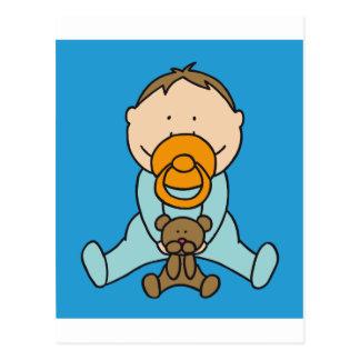 Bebé recién nacido tarjetas postales