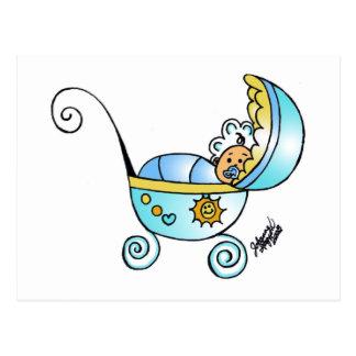 bebé recién nacido postal