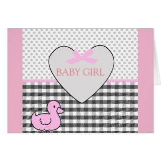 Bebé recién nacido - tarjetas de felicitación del