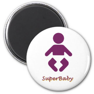 Bebé - SuperBaby Imán Redondo 5 Cm