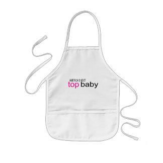 Bebé superior siguiente de Américas Delantal Infantil
