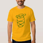 Bebé Taíno Verde Camisetas