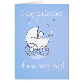 Bebé - tarjeta de felicitación