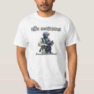 """Bebé triste Antiterror de la alfa """". """" Camisetas"""