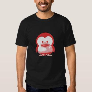 Bebé Tux de Linux: Edición roja Camisetas