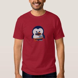 Bebé Tux II de Linux Camisetas