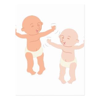 Bebés del baile postal