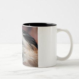 Bebida con la naturaleza taza bicolor