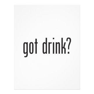bebida conseguida flyer personalizado