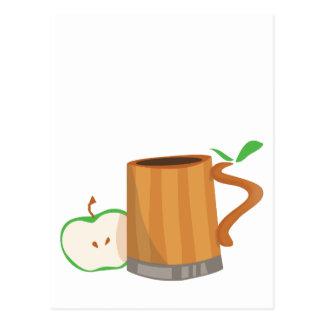 Bebida de la sidra postal