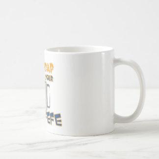 Bebida de n de Shaddap 'su taza de café del