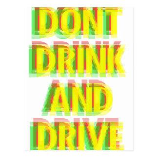 Bebida y impulsión postal