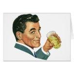 Bebidas de los cócteles del vintage, bebidas de felicitaciones