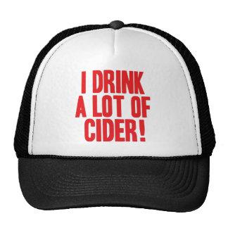 Bebo mucha sidra gorra