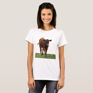 Becerro de Brown Camiseta
