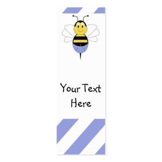BeeBee manosea la señal de la abeja Tarjetas De Negocios