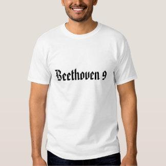 Beethoven 9 camisetas