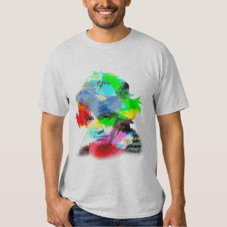 Beethoven en color camiseta