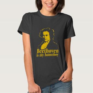 Beethoven es mi Homeboy Camiseta