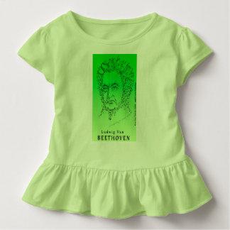 Beethoven hace frente a la música camiseta de bebé