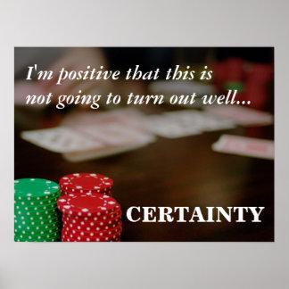 Behold el poder del positivo que piensa 3 póster