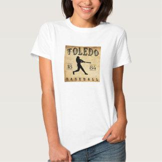 Béisbol 1884 de Toledo Ohio Camiseta