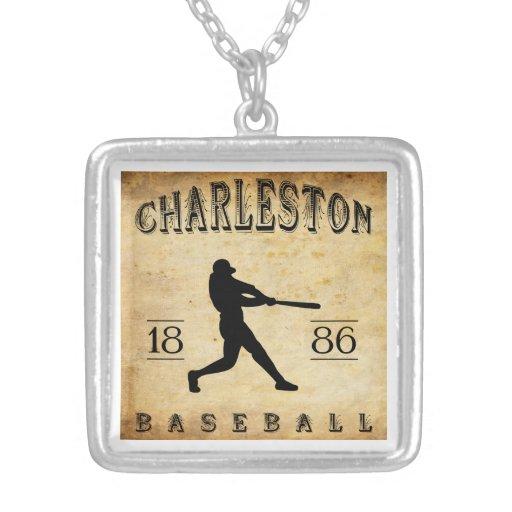 Béisbol 1886 de Charleston Carolina del Sur Collares