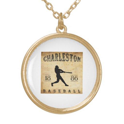 Béisbol 1886 de Charleston Carolina del Sur Grimpolas Personalizadas