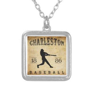 Béisbol 1886 de Charleston Carolina del Sur Collar Personalizado