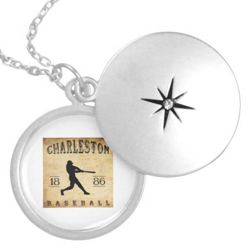 Béisbol 1886 de Charleston Carolina del Sur Joyerías