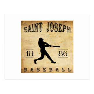 Béisbol 1886 de San José Missouri Postal