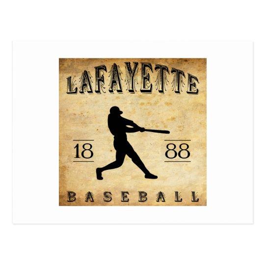 Béisbol 1888 de Lafayette Indiana Postal