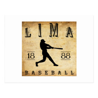 Béisbol 1888 de Lima Ohio Postal
