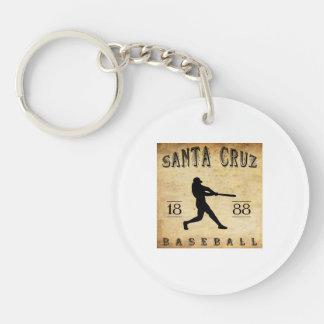 Béisbol 1888 de Santa Cruz California Llaveros