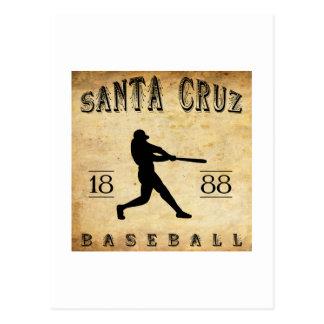 Béisbol 1888 de Santa Cruz California Tarjeta Postal