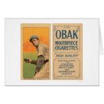 Béisbol 1910 de Brackenridge Vernon Felicitaciones