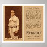 Béisbol 1912 de O'Brien Red Sox del dólar Posters