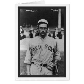 Béisbol 1914 de Harry Hooper Red Sox Tarjeta De Felicitación